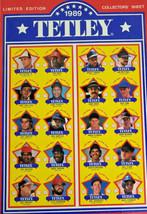 1989 Tetley Baseball Collectors Sheet MLB Cal Ripken Jr - $27.23