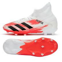 Adidas Jr. Predator 20.3 FG Football Shoes Youth Soccer Cleats White EG0927 - $72.99