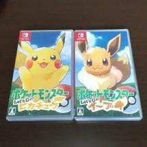 Nintendo Interrupteur Pokemon Let's Go Eevee & Pikachu HAC-P-ADW3A Vidéo Jeu - $99.64