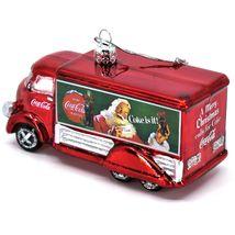 Kurt S Adler Coca-Cola & Santa Delivery Truck Hand-Crafted Glass Ornament CC4151 image 6