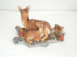 Deer and Fawn Figurine by Homco - $8.99