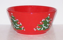 "LOVELY WAECHTERSBACH GERMANY CHRISTMAS TREE 8 7/8"" ROUND VEGETABLE SERVI... - $24.25"