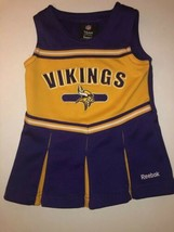 Infant/Baby Girls NFL Minnesota Vikings 18 Mo Cheerleader Cheer Dress Re... - $16.82