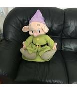 Jumbo Giant Snow White and the Seven Dwarfs Dopey Plush Stuffed Toy Soft... - $129.99