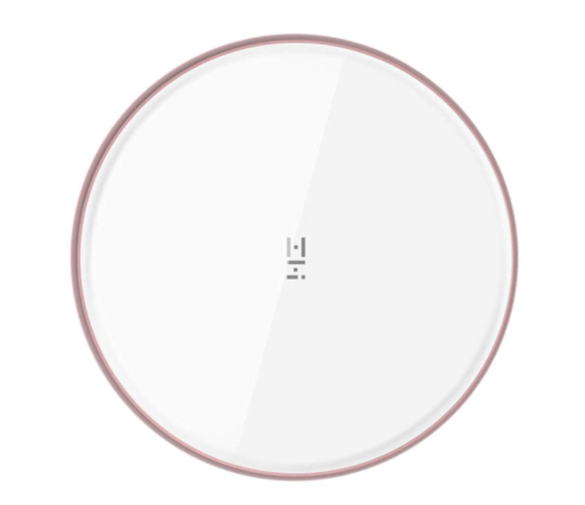 xiaomi zmi fast charging white wireless charger pad iphone xiaomi other phones