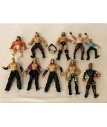 Wrestling Action Figures WWE JAKKS Pacific Vintage Lot of 10 Belt Wrist ... - $39.99
