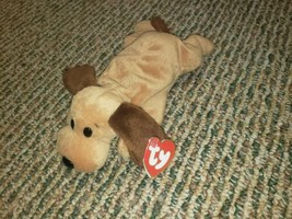 Ty Beanie Baby Bones the Dog 3rd 2nd Gen Authentic - $59.35