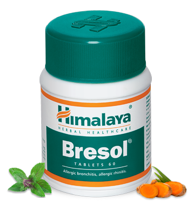 Himalaya Bresol Tablets Breathing Solution for allergic respiratory conditions