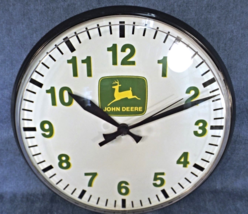 JOHN DEERE SHOP CLOCK  - $249.00