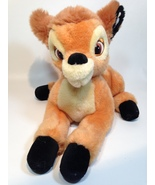 "Disney Store Bambi Stuffed Animal Plush Baby Deer Fawn Authentic Soft 13"" - $24.99"