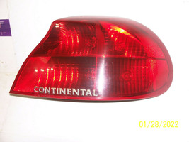 1998 1999 2000 2001 2002 LINCOLN CONTINENTAL RIGHT TAILLIGHT OEM USED So... - $125.38