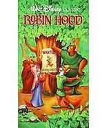 Robin Hood (VHS, Clamshell, 1991) Rare Black Diamond Edition Free USA Sh... - $70.13