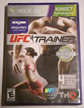 XBOX 360 - KINECT - UFC TRAINER (Complete with Manual) - $8.00