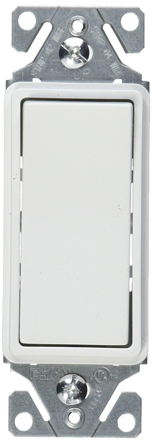 eaton 7521w 15 amp 120v momentary contact white circuit. Black Bedroom Furniture Sets. Home Design Ideas