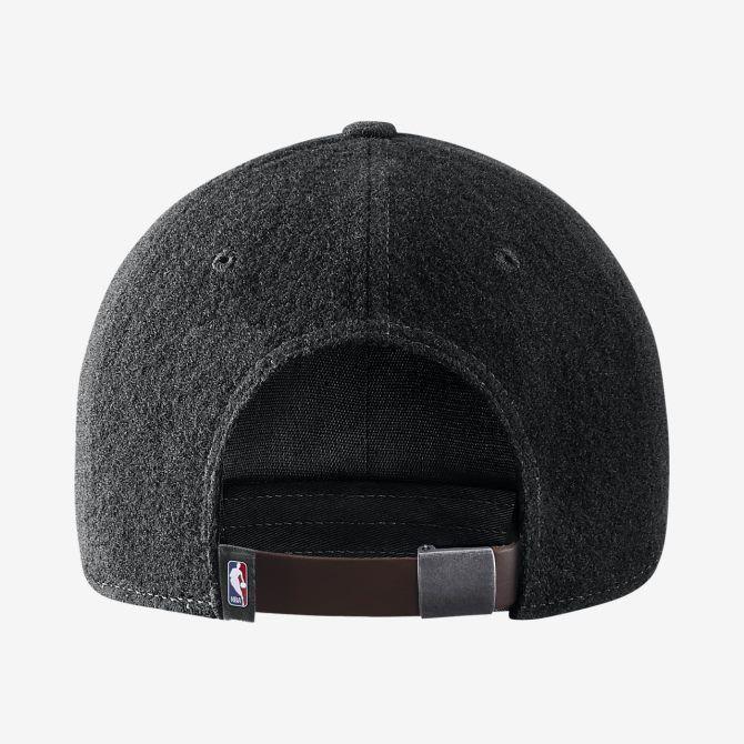 Portland Trail Blazers Cap Nike Heritage 86 Hat Black NBA Size Adults Flannel