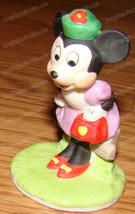 Minnie Mouse, Sunday Best (The Disney Collection, 1987) Porcelain Bisque - $18.32