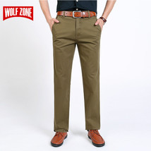 New Arrival Mens Casual Business Pant Men Mid Full Length Brand Stretch - $42.99
