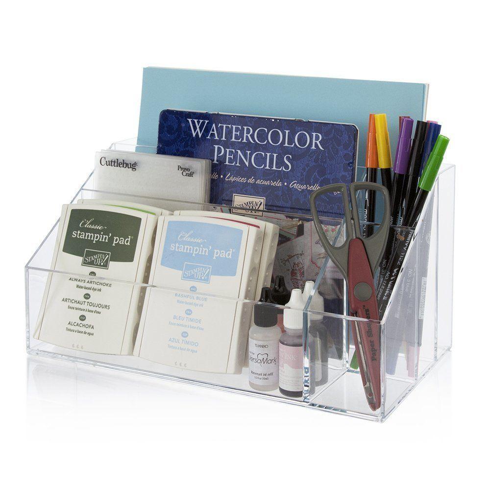 Mail Organizer For Desk Office Home Sorter Premium Quality Plastic Craft New
