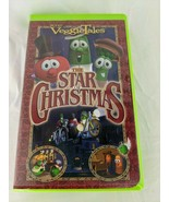 Veggie Tales The Star of Christmas VHS Movie - $2.66