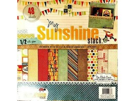 DCWV My Sunshine Stack Cardstock Paper Pad #PS-005-00262