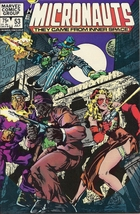 (CB-7) 1983 Marvel Comic Book: Micronauts #53 - $3.50