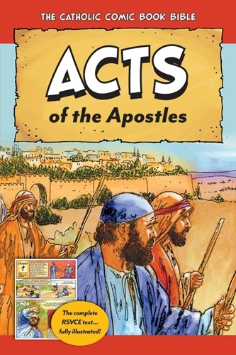 The catholic comic book bible acts of the apostles