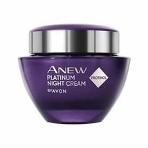 BIG SALE Avon Anew Platinum Replenishing Night Cream with Protinol 1.7oz... - $10.90