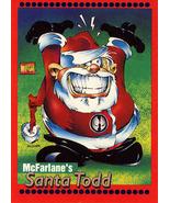 McFarlane's Santa Todd Card - $0.95