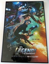 2015 CW LEGENDS OF TOMORROW Season 1 Promo Poster Signed By Cast Framed ... - $890.99