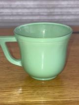 "VINTAGE JADITE cup approx. 2.5"" tall - $2.96"