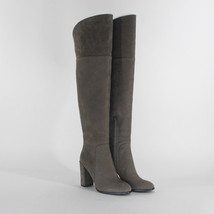 Kenneth Cole NY Jack Cement Over Knee Heels Women's Boots Size 5 - £55.27 GBP