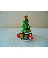 "Christmas Tree Shaped Trinket Box "" BEAUTIFUL COLLECTIBLE DISPLAYABLE IT... - $19.99"