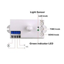 SenskyBS029A110V-130VAC360DegreeMicrowaveSensor Switch Motion Sens... - $13.24