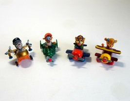 4 Disney TAIL SPIN Airplanes - Molly - Wildcat - Kit - Baloo -1990 McD's... - $9.99