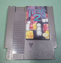 Tetris 2/Nintendo NES/Tested Works 1985 cartridge only NES-USA/CAN1 Japan - $18.22