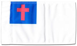 "Christian - 5.5"" x 8.5"" Motorcycle Flag - $19.14"