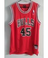VTG  Nike NBA Chicago Bulls Michael Jordan #45 Authentic Jersey SZ Large 50 - $59.39
