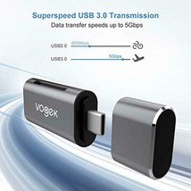 VOGEK - Lector de tarjetas SD y USB C 2 en 1, tipo C a SD/Micro SD, lect... - $13.20+