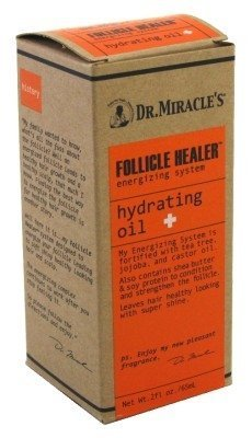 Dr. Miracles Follicle Healer Hydrating Oil 2oz 2 Pack