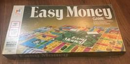 Easy Money Board Game Vintage Milton Bradley 1974 Complete - $10.42