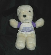 """9 """"vintage 1987 applause the greatest girl puppy dog stuffed animal - $23.01"""