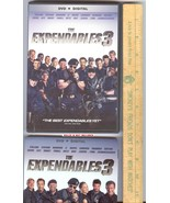 The Expendables 3 DVD Sylvester Stallone W Slipcover Digital and UltraV ... - $3.99