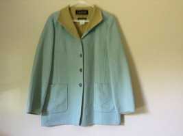 Louis Feraud Finition Main Baby Blue Blazer Jacket Made in Italy No Size Tag