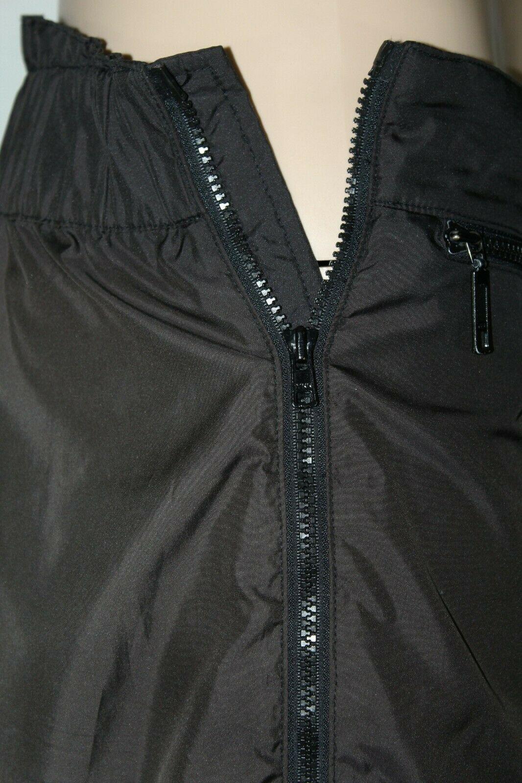 FERA Skiwear Men's Size 36 Black Full Zip Leg Lined Snow Ski Snowboarding Pants