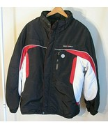 ZEROXPOSUR Boys Youth Size XL 18/20 Winter Coat Zip Up  Black, Red & White - $32.66