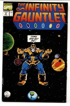 INFINITY GAUNTLET #4 comic book 1991 MARVEL MOVIE MCU  THANOS  NM- - $37.83