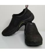 MERRELL Womens Black Jungle Moc Work Casual Comfort Shoes Slip On 7.5 - $23.99