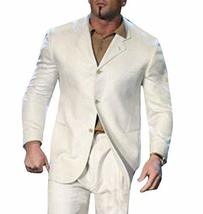 WWE Dave Bautista Mens Slimfit White Suit image 1