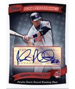 2010 Topps Peak Performance Autographs #PPA-JP Jhonny Peralta Indians S2... - $12.00
