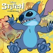 Walt Disney Stitch (Lilo & Stitch) Art 16 Month 2022 Wall Calendar NEW - $14.50